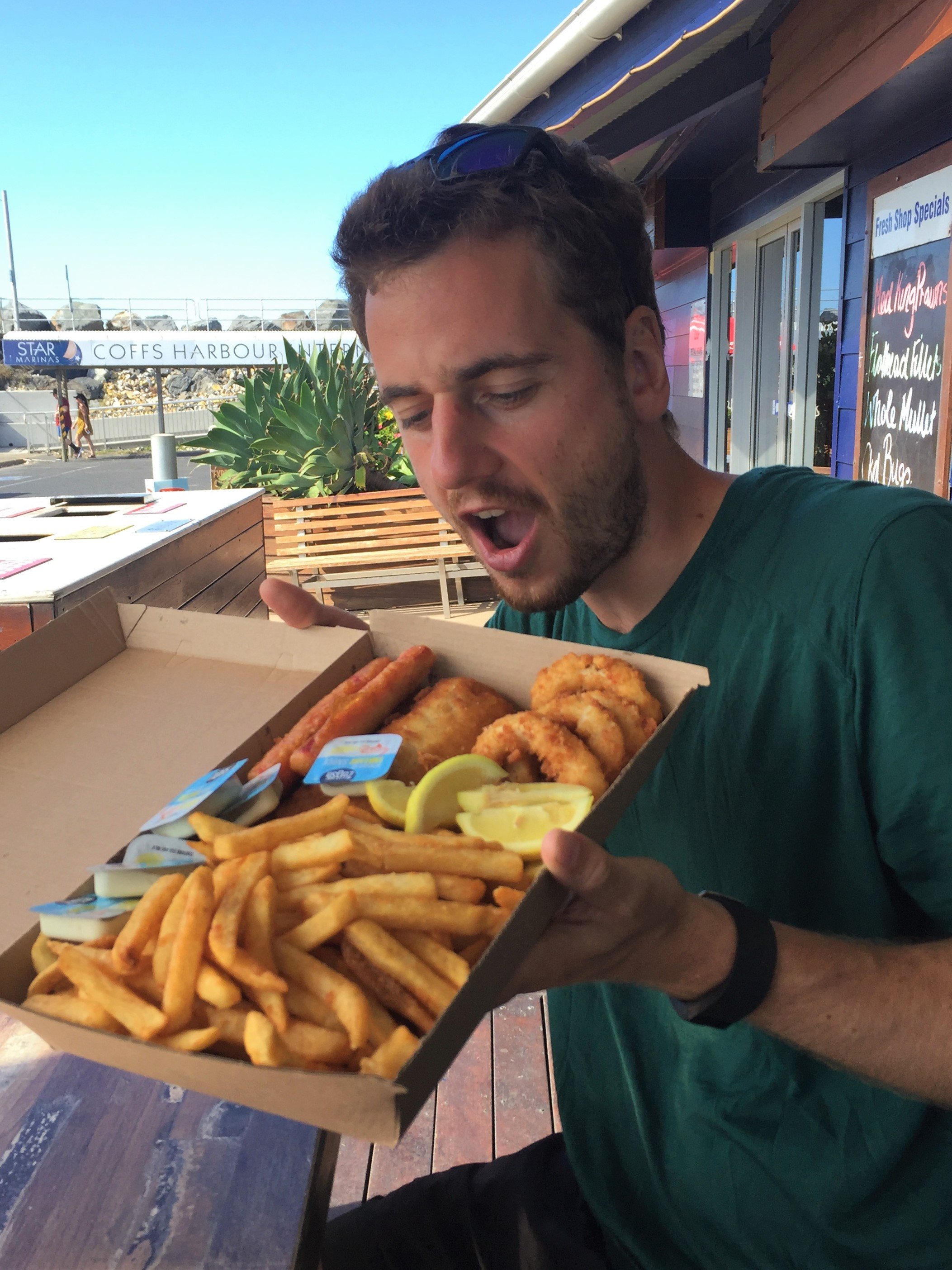 Coffs Harbour – Fish and Chips – 12 janvier 2019 (Camille) (3)